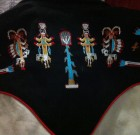 Vintage Tru West Rockmount Ranch Wear Denver Colorado Tribal embroidered design Child's Large