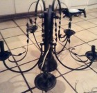 SOLD!  Gothic Elegant Chandelier