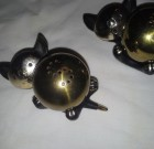 SOLD!  Vintage Black Cat Salt and Pepper Shakers
