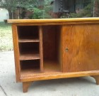 SOLD! Vintage retro Side table Mid Century – $25